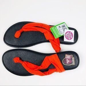 Sanuk Yoga Triangle Sandals SWS11050 FLA Orange